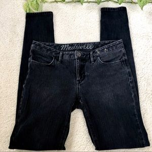 Madewell Skinny Jeans Faded Black